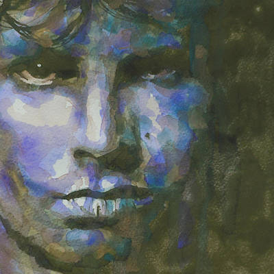 Singer Painting - Light My Fire  by Paul Lovering