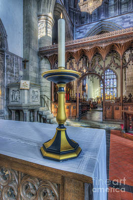 Candle Stick Photograph - Light Of Life by Ian Mitchell
