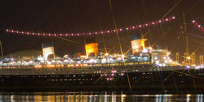 Photograph - Light Of Queen Mary by Heidi Smith