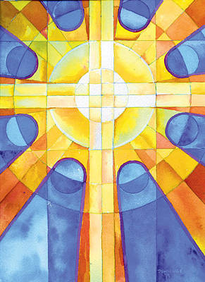 Liturgical Painting - Light Of The World by Mark Jennings