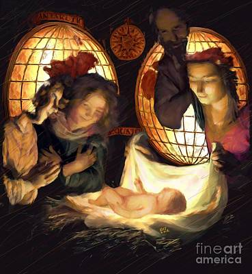 John 3.16 Painting - Light Of The World Oil Painting by Earl Jackson