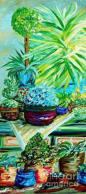Surreal Painting - Light On My Table by Eloise Schneider