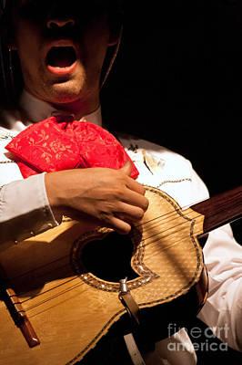 Chitarra Photograph - Light On Singing by Rossana Coviello