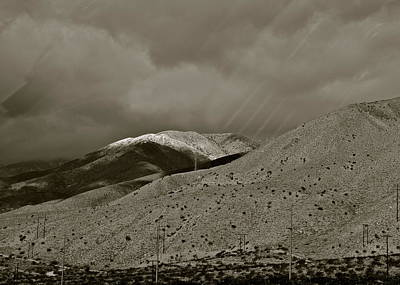Photograph - Light On Snow In The Desert by Kirsten Giving