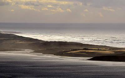 Photograph - Light On The Dunes by AJ  Schibig