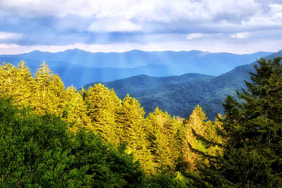 Photograph - Light On The Mountain by Carolyn Derstine