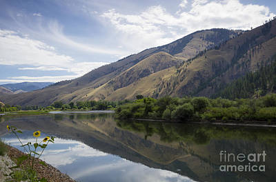Photograph - Light On The Salmon by Idaho Scenic Images Linda Lantzy