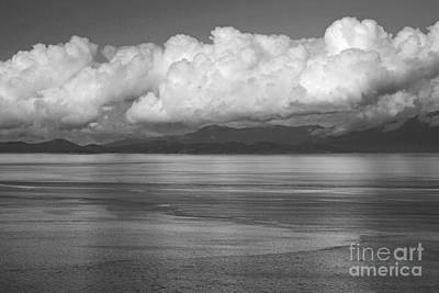 Art Print featuring the photograph Light Over The Salish Sea by Inge Riis McDonald