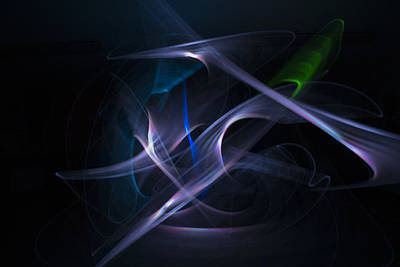 Photograph - Light Painting by Spikey Mouse Photography