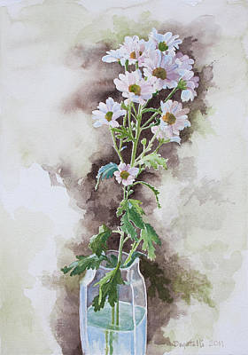Painting - Light Pink Daisies by Kathryn Donatelli