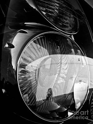 Katharine Hepburn - Light Reflection by Fei A