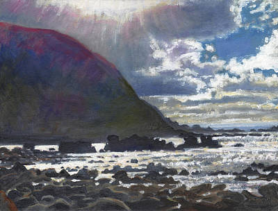 Painting - Light Rolling In by Helen White