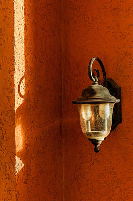 Photograph - Light Shadow And Texture On The Walls by Gary Slawsky