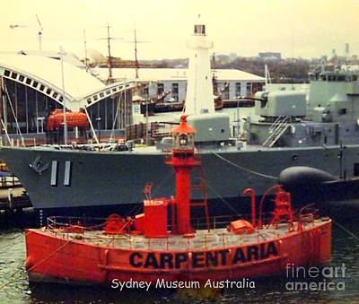 Photograph - Light Ship Sydney Museum by John Potts