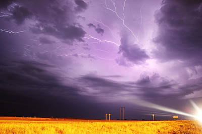 Photograph - Light Show Over Yorkton by Ryan Crouse