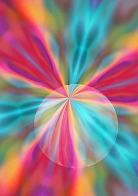 Digital Art - Light Spectrum 1 by Angelina Vick