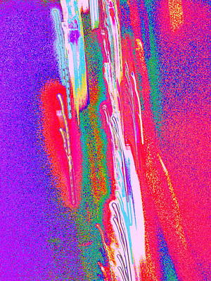 Digital Art - Light Streaks by Expressionistart studio Priscilla Batzell