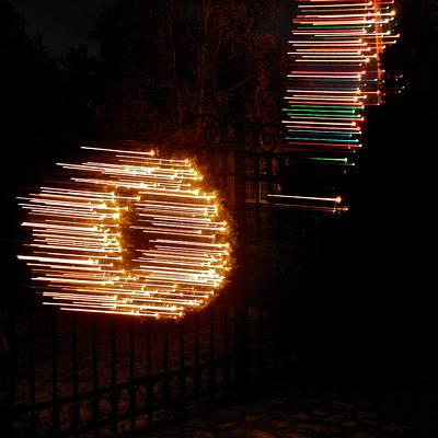 Photograph - Light Streaks I V by Kirsten Giving