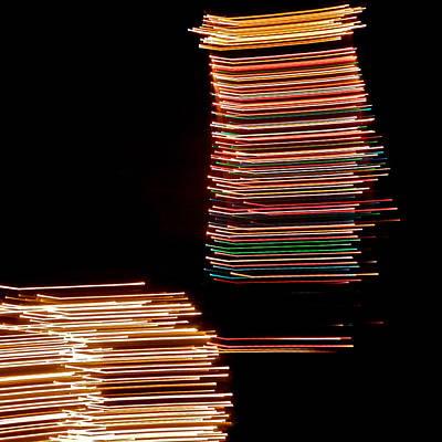 Photograph - Light Streaks V by Kirsten Giving