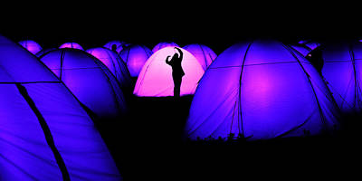 Photograph - Light Tents Variation Two by Mick House