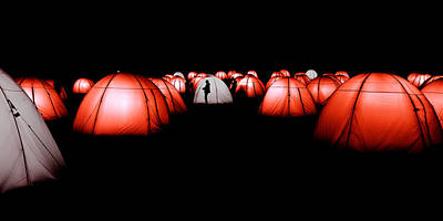 Photograph - Light Tents Variation Three by Mick House