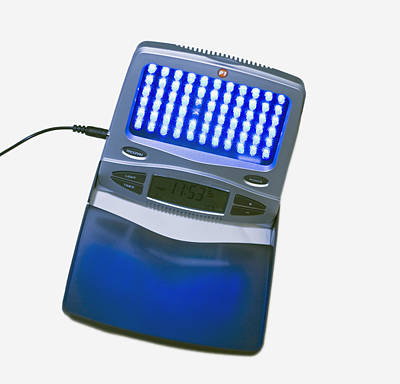 Sleep Disorder Photograph - Light Therapy Equipment by Science Stock Photography