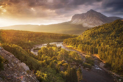 Peter James Nature Photograph - Light Through The Valley II by Peter Coskun
