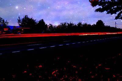 Photograph - Light Trails by Robert Gross