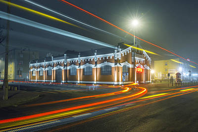 Photograph - Light Trails by Jaroslaw Grudzinski