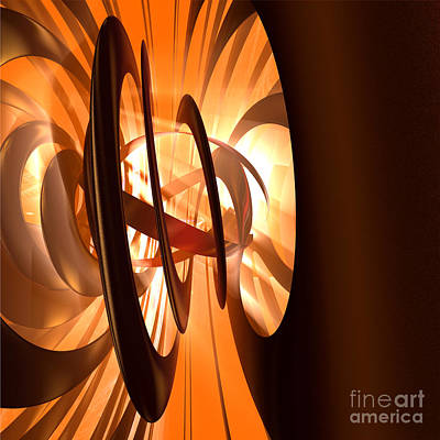 Light Transference Art Print by Peter R Nicholls