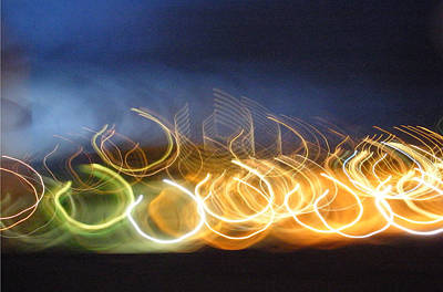 Photograph - Light Waves by Claudia Goodell