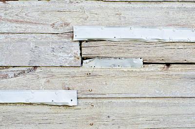Photograph - Light Weathered Wall by Lynn Hansen
