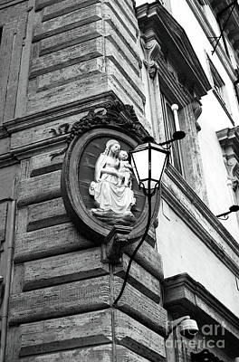 Jesus Christ Relief Photograph - Lighted Way by John Rizzuto