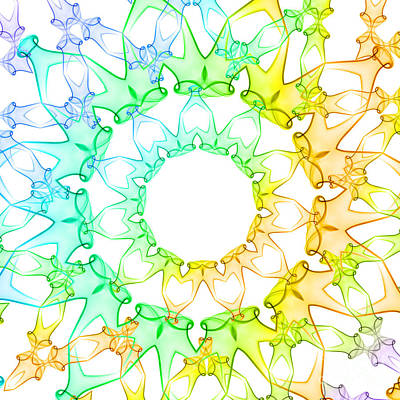 Mandala Photograph - Lighthearted by Sabine Jacobs