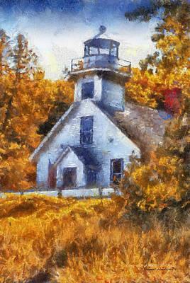 Lighthouse 02 Photo Art Art Print