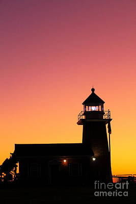 Photograph - Lighthouse 1 by Theresa Ramos-DuVon
