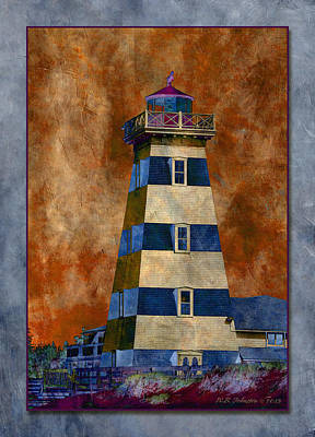 Photograph - Lighthouse 1 by WB Johnston