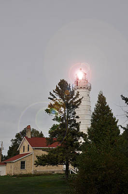 Photograph - Lighthouse 2 by Larry Peterson