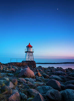 Peace Tower Wall Art - Photograph - Lighthouse by Andreas Christensen