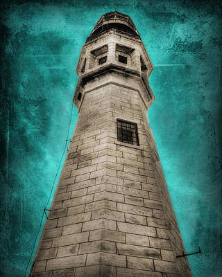 Lighthouse Art Art Print by Cindy Haggerty