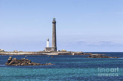 Photograph - Lighthouse At Ile Vierge Brittany France by Colin and Linda McKie