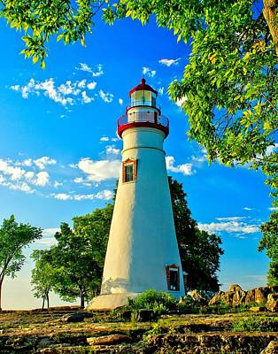 Photograph - Lighthouse At Marblehead by Nick Zelinsky