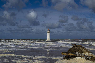 lighthouse at New Brighton Art Print by Spikey Mouse Photography