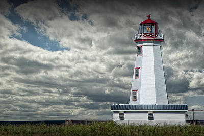 Photograph - Lighthouse At North Cape On Prince Edward Island by Randall Nyhof