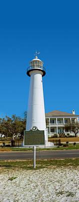 Biloxi Photograph - Lighthouse At The Roadside, Biloxi by Panoramic Images