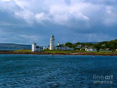 Photograph - Lighthouse At Toward Point by Joan-Violet Stretch