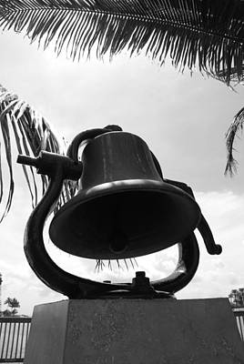 Photograph - Lighthouse Bell by Rob Hans