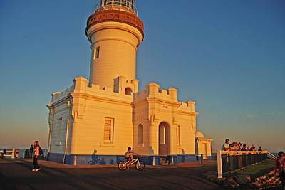 Photograph - Lighthouse Blues In Byron Bay by Ankya Klay