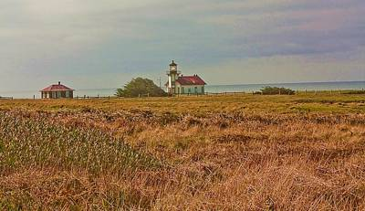 Art Print featuring the photograph Lighthouse by Brian Williamson