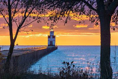 Photograph - Lighthouse Eclipse by Bill Pevlor